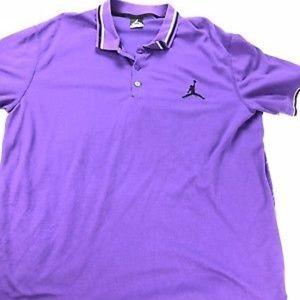 4f296ab9 Jordan Shirts | Nike Air Purple Mens 2xl Xxl Jumpman Polo | Poshmark